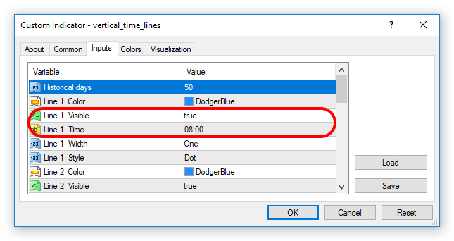 setting vertical_time_lines